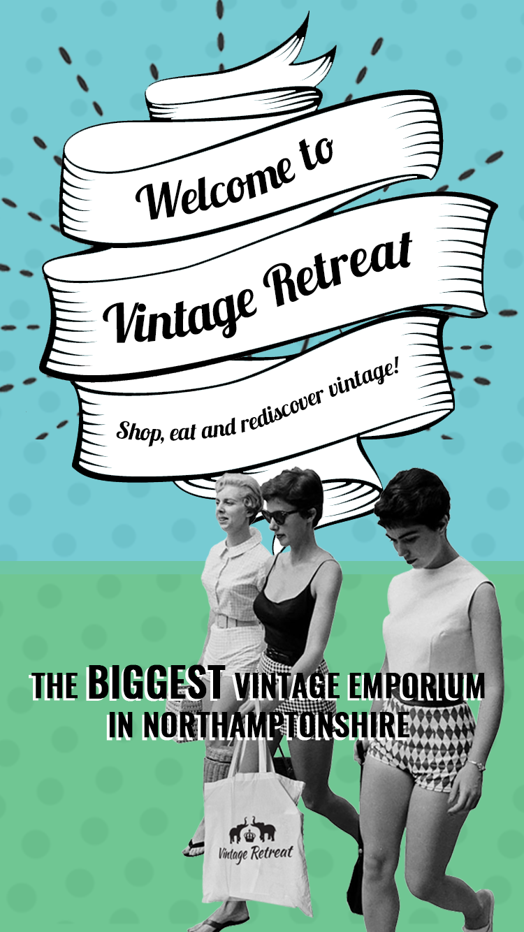 Vintage Retreat Homepage Mobile Banner