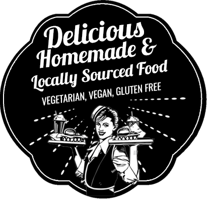 Locally sourced food badge