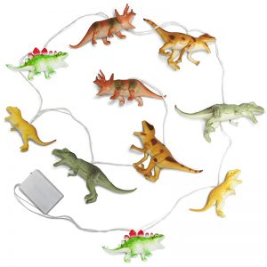 Natural Dinosaurs String Lights